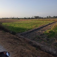 Photo taken at Paddy Field Jalan Permatang Bogak by Fafaahmad on 3/5/2016
