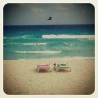 Photo taken at Playa Marlin by Sandra L. on 1/30/2013