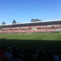Photo taken at Pirtek Stadium by Bradley S. on 1/6/2013