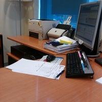 Photo taken at BBVA Oficina by Anecdotario d. on 5/23/2014