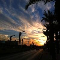 Photo taken at King Abdullah Road by Rami B. on 12/2/2012