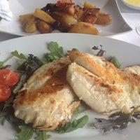Photo taken at Deco Restaurant by Karolina C. on 5/3/2015