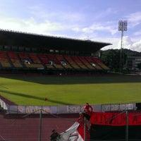 Photo taken at Estadio Olímpico Universitario by @robecolby on 12/2/2012