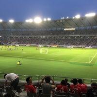 Photo taken at FC東京スポボラテント(味スタメイン) by クリリン や. on 9/17/2016
