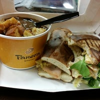 Photo taken at Panera Bread by April L. on 3/11/2015