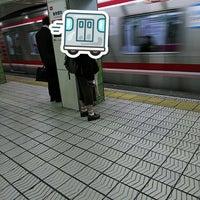 Photo taken at Dobutsuen-mae Station (M22/K19) by ei2ei2_feather on 11/16/2017