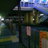 Photo taken at 京阪守口市駅 バスターミナル by ei2ei2_feather on 2/13/2017
