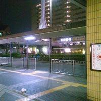 Photo taken at 京阪守口市駅 バスターミナル by ei2ei2_feather on 2/8/2017