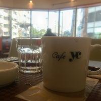 Photo taken at cafe yc by Yutaka Y. on 3/7/2013