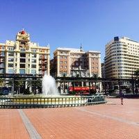 Photo taken at Plaza de la Marina by Victor B. on 5/14/2016