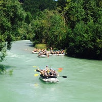 Photo taken at George Best Bar by Adventure Rafting Bled R. on 8/17/2014