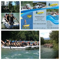 Photo taken at Gostilna Kurej by Adventure Rafting Bled R. on 10/2/2013