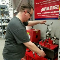 Photo taken at Lowe's Home Improvement by Cat O. on 12/13/2016