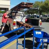 Photo taken at Lowe's Home Improvement by Cat O. on 4/1/2017