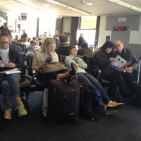 Photo taken at Gate B88 by Miguel J. on 12/10/2012