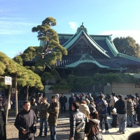 Photo taken at Shibamata Taishakuten (Daikyo-ji Temple) by Shinichi I. on 1/1/2013
