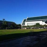 Photo taken at Thammasat University by Sarawan T. on 6/29/2013