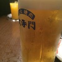 Photo taken at 炭火焼肉 大手門 by ともとも(๑╹ω╹๑ ) 花. on 3/18/2017