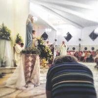 Photo taken at Paróquia Jesus, Maria e José by Dandara C. on 8/28/2015