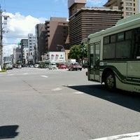 Photo taken at 四条大宮交差点 by SA.N.JO @. on 8/21/2016
