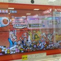 Photo taken at namco くずはモール店 by SA.N.JO @. on 4/18/2015