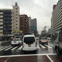 Photo taken at 日曹橋 by うちだ くらさん 基. on 3/14/2016