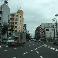 Photo taken at 北原交差点 by Kanazawa A. on 10/11/2016