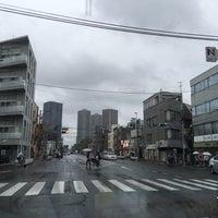 Photo taken at 元住吉駅交差点 by Kanazawa A. on 5/9/2016
