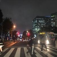 Photo taken at お茶の水交差点 by Kanazawa A. on 10/17/2016
