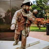 Photo taken at Ontario Fire Fighters Memorial by Egor Z. on 6/23/2017