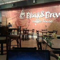 Photo taken at Black & Brew Coffee House & Bistro by Grant N. on 8/14/2014