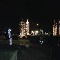 Photo taken at Rožu laukums by Baiba T. on 12/1/2012