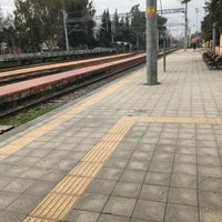 Photo taken at Ceyhan Tren İstasyonu by Ferhat T. on 1/21/2018