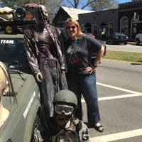 Photo taken at Historic Downtown Senoia by Carrie B. on 4/1/2017
