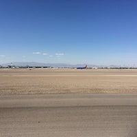 Photo taken at McCarran Airport Runway Observation by Chad L. on 4/16/2014