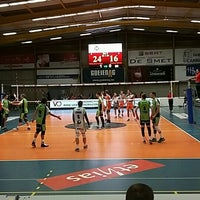 Photo taken at Volley Asse Lennik by Katrijn A. on 11/7/2015