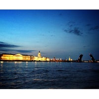 Photo taken at Neva River by Belka G. on 7/9/2013