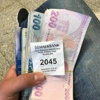 Photo taken at Halkbank by Hilmi K. on 2/20/2018