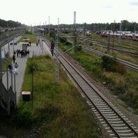 Photo taken at Bahnhof Elstal by Yury S. on 9/15/2012