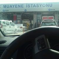 Photo taken at TÜVTÜRK Araç Muayene İstasyonu by Yunus Emre A. on 2/27/2017