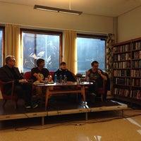 Photo taken at Odda bibliotek by Herdis M. on 10/10/2013