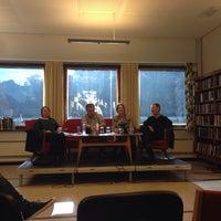 Photo taken at Odda bibliotek by Herdis M. on 10/11/2013