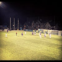 Photo taken at U-M Soccer Complex by Chris P. on 11/16/2012