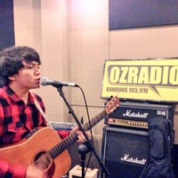 Photo taken at OZ Radio Bandung 103,1 FM by matthew m. on 12/16/2015