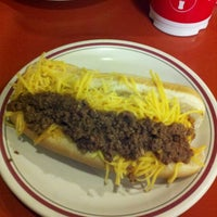 Photo taken at Rudy's Hot Dog by Jane L. on 1/22/2013