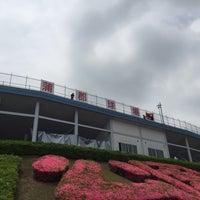 Photo taken at 蒲郡野球場 by Fukudome of toyokawa on 5/29/2016