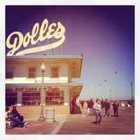 Photo taken at Rehoboth Beach Boardwalk by Ashley K. on 3/9/2013