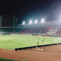 Photo taken at Supachalasai Stadium by Riza F. on 11/22/2017