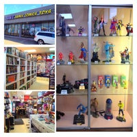 Photo taken at Nan's Comics, Games, and Toys by Paola . on 3/15/2013