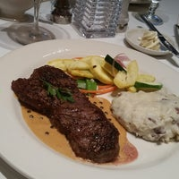 Photo taken at Opus 9 Steakhouse by Farrah on 4/23/2015